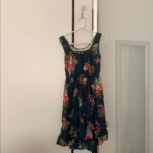 Delia's Navy Floral Dress